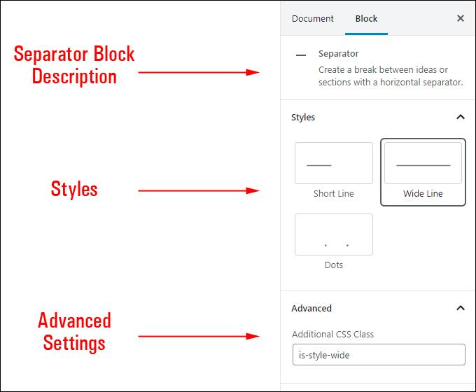 separator blocks